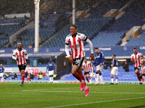 Sheffield United's Daniel Jebbison is not weighed down by the baggage of a relegation season (Alex Pantling/PA)