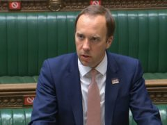 Health Secretary Matt Hancock (House of Commons/PA)