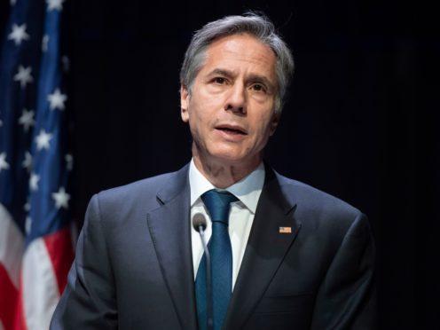 US secretary of state Antony Blinken (Saul Loeb/Pool Photo via AP)