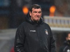 Kilmarnock manager Tommy Wright hopes his side can overturn their first-leg deficit against Dundee (Andrew Milligan/PA)