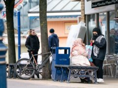 People in Dewsbury in Kirklees after local leaders in eight Indian variant hotspots have criticised the Government's quietly-announced changes to advice on coronavirus controls (Danny Lawson/PA)