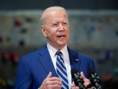 Joe Biden has set out plans for a $6 trillion budget (Niall Carson/PA)