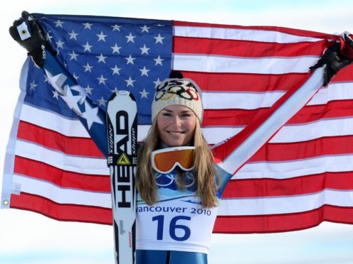 Skiing superstar Lindsey Vonn says athletes should be free to protest – but not on podiums (Andrew Milligan/PA)