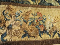 Detail of the lost red squirrel recreated in the border of the tapestry (Barry Batchelor/National Trust/PA)