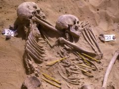 Pre-historic violence at Jebel Sahaba cemetery 'may not have been single event' (Wendorf Archives of the British Museum/PA)