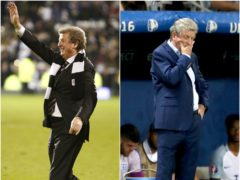 Roy Hodgson has experienced many ups and downs during the past 45 years (PA)