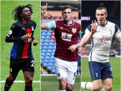 Chris Wood (centre) is this week's top pick while Gareth Bale (right) and Eberechi Eze stand out in midfield (Alex Livesey/Peter Powell/Shaun Botterill/PA)