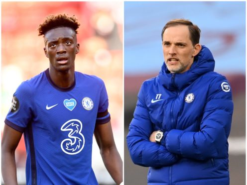 Thomas Tuchel has refused to discuss the future of Tammy Abraham at Chelsea (Peter Powell/NMC Pool/Andy Rain/PA)