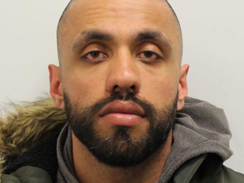 Former Metropolitan Police officer Kashif Mahmood has been jailed for using his position to help an organised gang seize criminal cash (Metropolitan Police/PA)