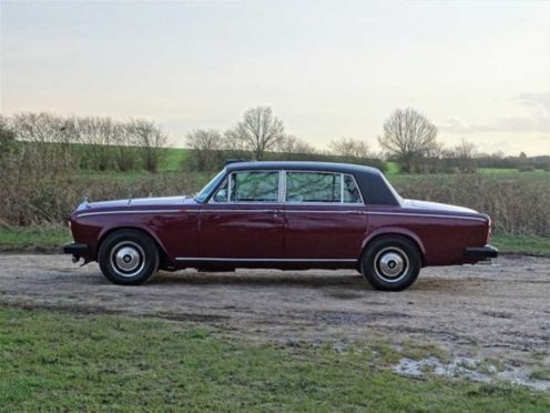 This 1980 Rolls-Royce Silver Wraith II was formerly the property of Princess Margaret for twenty-two years – the longest serving Rolls-Royce with the Princess. It is estimated to sell for £45,000 – £55,000 with H&H Classics at IWM Duxford on May 26th (H&H Classics/PA)