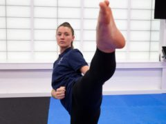 Two-time taekwondo world champion Amy Truesdale is preparing for Tokyo (imagecomms/PA)