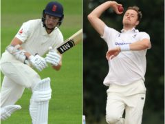 James Bracey and Ollie Robinson (PA)