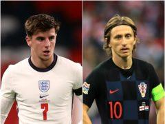 Mason Mount is looking forward to facing Luka Modric again (PA)