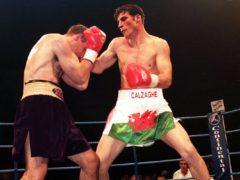 Joe Calzaghe fought Rick Thornberry 22 years ago (Huw Evans/PA)