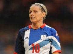 Kelly Smith during the London 2012 Olympics (Andrew Matthews/PA)