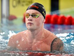 Adam Peaty has demanded fairness for Olympic athletes in Tokyo (Ian Rutherford/PA)