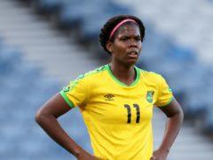 Jamaica striker Khadija Shaw has signed for Manchester City Women (Andrew Milligan/PA)