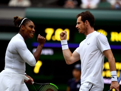Andy Murray and Serena Williams reached the third round of the mixed doubles in 2019 (Victoria Jones/PA)