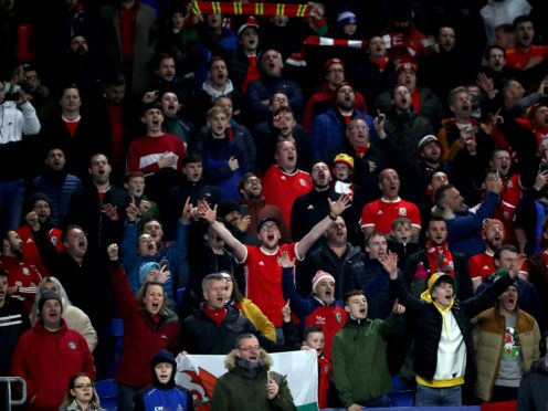 Around 2,000 Wales football fans are making the trip to Azerbaijan for Euro 2020 games (Nick Potts/PA)