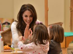 The Duchess of Cambridge has launched her own Centre for Early Childhood (Phil Harris/Daily Mirror/PA)