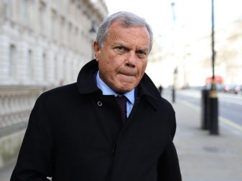 Sir Martin Sorrell's advertising agency, S4 Capital, is adopting hybrid working practices (Aaron Chown/PA)