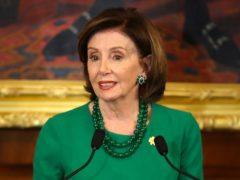 Nancy Pelosi will visit the UK in September (Niall Carson/PA)
