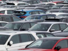 Demand for new cars grew was down 14.7% last month compared with May 2019, new figures show (Joe Giddens/PA)