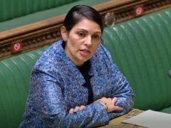 Home Secretary Priti Patel (House of Commons/PA)