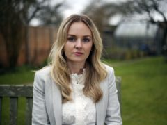 Lissie Harper, the widow of Pc Andrew Harper, pictured in March 2021 (Steve Parsons/PA)