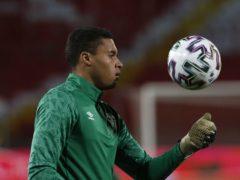 Republic of Ireland international Gavin Bazunu wants to be Manchester City's number one (Novak Djurovic/PA)