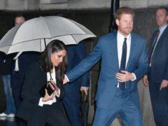 The Duke and Duchess of Sussex (John Stillwell/PA)