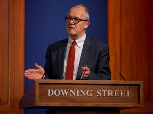 Chief scientific adviser Sir Patrick Vallance (Dan Kitwood/PA)