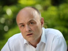 A High Court judge has ruled that a Government decision to award a contract to a company whose bosses were friends of adviser Dominic Cummings was unlawful (Jonathan Brady/PA)