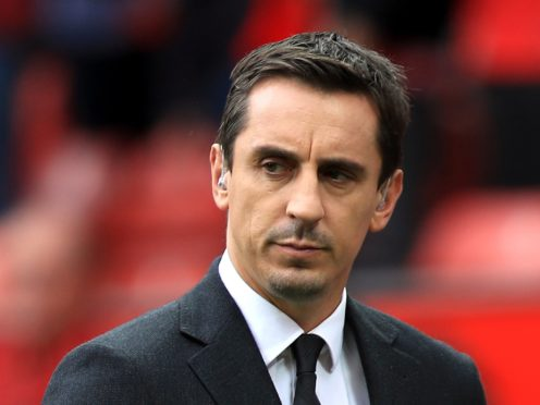 """Former England and Manchester United defender Gary Neville believes football's response to racism has been """"ridiculous"""" (Mike Egerton/PA)"""