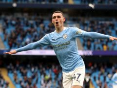 Phil Foden could claim a PFA awards double on Sunday (Carl Recine/PA)