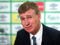 Republic of Ireland manager Stephen Kenny is looking to the future (Niall Carson/PA)