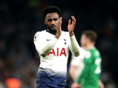 Danny Rose, pictured, has joined Watford on a two-year deal after leaving Tottenham as a free agent (John Walton/PA)