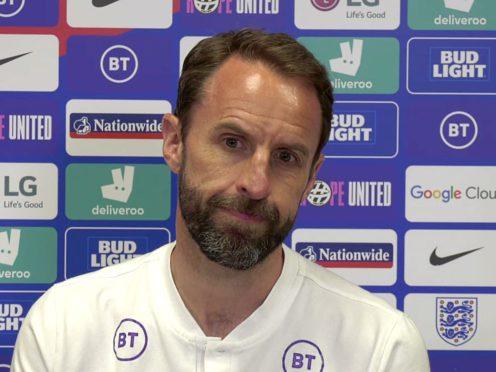 Gareth Southgate named his England squad on Tuesday (FA screengrab)