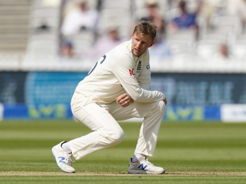 """Joe Root admits a run-chase was never a """"realistic opportunity"""" for England (Adam Davy/PA)"""