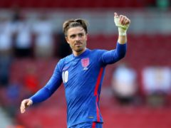 Jack Grealish was absent from squad training on Tuesday (Nick Potts/PA)
