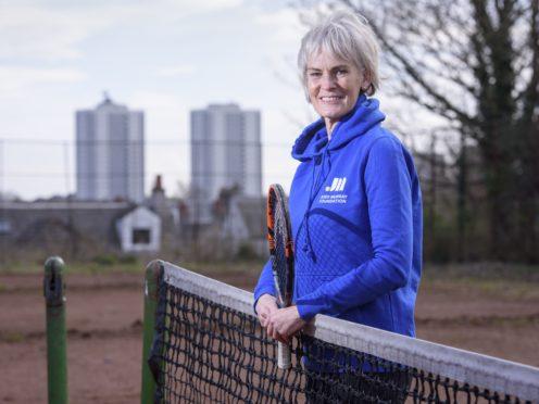 Judy Murray wants to grow grassroots tennis in Scotland (John Linton/PA)