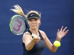 Katie Boulter's dreams of playing at Wimbledon again inspired her comeback from injury (Zac Goodwin/PA)