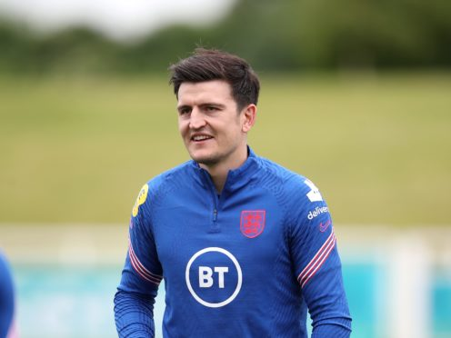 Harry Maguire returned to training with England on Thursday (Nick Potts/PA)