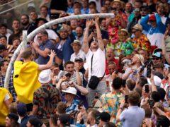 England fans enjoyed their return to Edgbaston (Mike Egerton/PA).