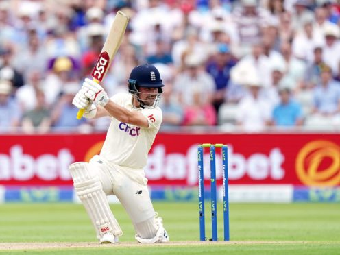 England's Rory Burns on his way to 81 against New Zealand (Mike Egerton/PA).