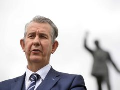 DUP Leader Edwin Poots said he had been promised that changes would be made to the NI Protocol (Mark Marlow/PA)