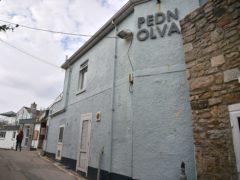 The Pedn Olva hotel in St Ives, Cornwall where a coronavirus outbreak has taken place (Ben Birchall/PA)