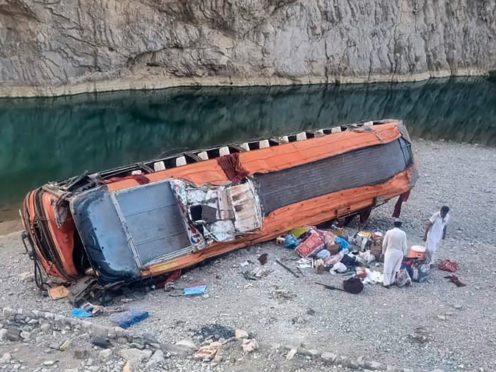 (AP Photo/Younis Baloch)