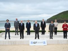 The G7 leaders (PA)