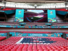 Wembley is due to host the semi-finals and the final of Euro 2020 (Nick Potts/PA)